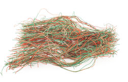 Tangled wire Stock Image