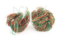 Tangled wire Royalty Free Stock Photography