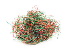 Tangled wire Royalty Free Stock Photo