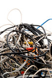 Tangled Wires Stock Photo