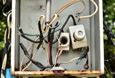 Tangled Wires. Stock Images