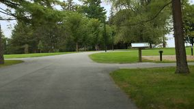 Tanglewood Grounds (5 of 7). A view or scene of Music & Arts stock video footage