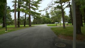 Tanglewood Grounds (2 of 7). A view or scene of Music & Arts stock video footage