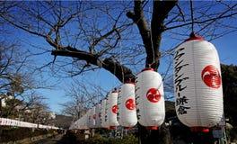 Tanglung i Kamakura royaltyfria foton