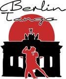 Tango à Berlin Photos libres de droits