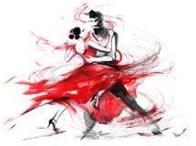tango foto de archivo