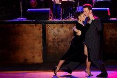 Tango argentin Images libres de droits