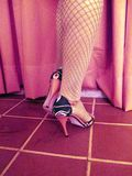 Tango Argentine dance shoes.  Royalty Free Stock Image