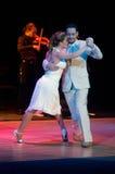 Tango argentino Immagini Stock Libere da Diritti