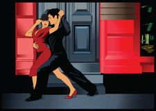 Tango argentino 3 Foto de Stock Royalty Free