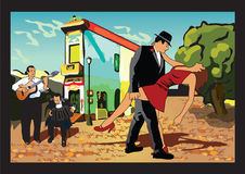 Tango argentino Foto de archivo