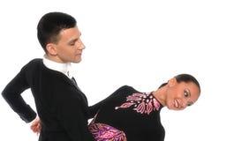 Tango- ballroom beautiful Royalty Free Stock Images