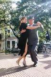 Tango in Buenos aires royalty-vrije stock afbeeldingen