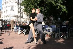 Tango in Buenos Aires Royalty Free Stock Photos