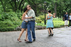 Tango in Central Park Stock Photography