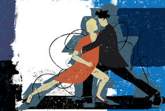 Tango Couple Stock Images