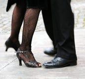 Tango da dança Imagem de Stock