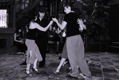 Tango da dança fotografia de stock