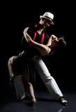 Tango dance Stock Image