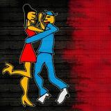 Tango Dance Stock Photo