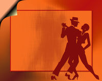 Tango dance couple Royalty Free Stock Photos