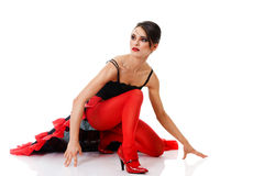 Tango dancer Royalty Free Stock Photo