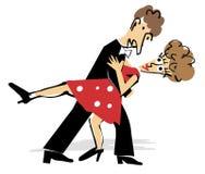 Tango_dancer Стоковая Фотография