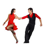 Tango dancers Royalty Free Stock Photo