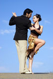 Tango dancers royalty free stock photos
