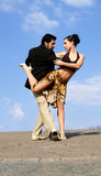 Tango dancers Stock Photo