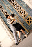 TANGO DANCERS. Couple tango dancing in Buenos Aires, Argentina Stock Photo