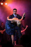 Tango dancers. Couple dancing during Buenos Aires tango festival Stock Image