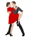Tango dancers Stock Photography