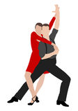 Tango dancers 4 Stock Photo