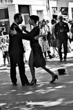 Tango dancers 139 Royalty Free Stock Photos