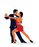 Tango dancers Royalty Free Stock Photography