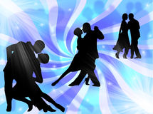 Tango dancing Royalty Free Stock Image