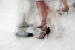 Tango dancing Royalty Free Stock Image