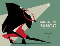 Tango dans Royaltyfria Foton