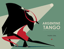 Tango, dans Royalty-vrije Stock Foto's