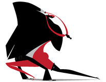 Tango, danza ilustración del vector