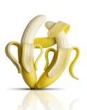 Tango das bananas Fotos de Stock Royalty Free