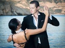 Tango de danse Photographie stock libre de droits
