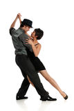 Tango de danse de couples Photographie stock