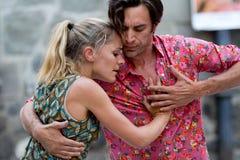 Tango de danse de couples. Images libres de droits
