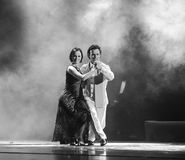 Tango de la Argentina Foto de archivo