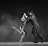 Tango de la Argentina Fotografía de archivo libre de regalías