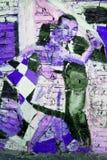 Tango del arte de la calle Imágenes de archivo libres de regalías