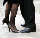 Tango del baile Imagen de archivo