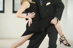 Tango del baile de los pares Foto de archivo libre de regalías